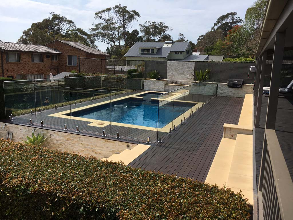 Mona Vale Pool Fence and Decking