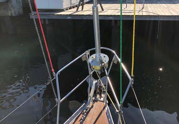 Mast Refurbishment